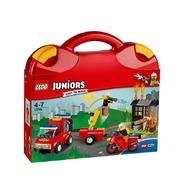 LEGO® Valiza Patrula de pompieri
