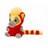Keel Toys - Lemur de plus Moonlings Rosu 14 cm