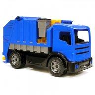 Lena Camion gunoi albastru din plastic Lena pentru copii sustine 100kg