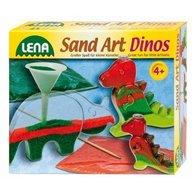Lena - Joc creativ dinozauri cu nisip