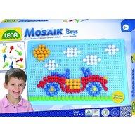 Lena - Set creatie si constructie mozaic baieti 200 piese