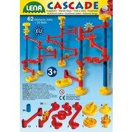 Lena - Set de joaca labirint cu 20 bile si 64 de elemente