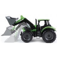 Lena Tractor cu cupa functionala plastic Deutz Fahr Agrotron 7250 Worxx pentru copii 45 cm