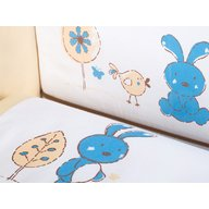 Klups - Lenjerie patut copii Little bunny K024