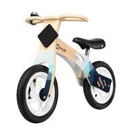 Lionelo - Bicicleta din lemn fara pedale cu roti gonflabile Willy, Indygo