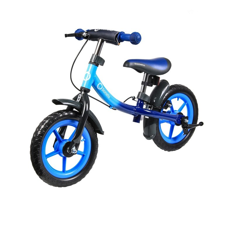 Lionelo Bicicleta fara pedale Dan Plus Blue Chameleon