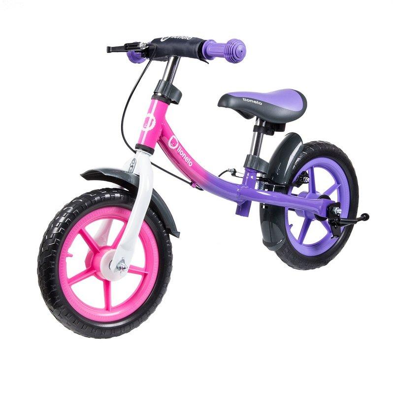 Lionelo Bicicleta fara pedale Dan Plus Pink Chameleon