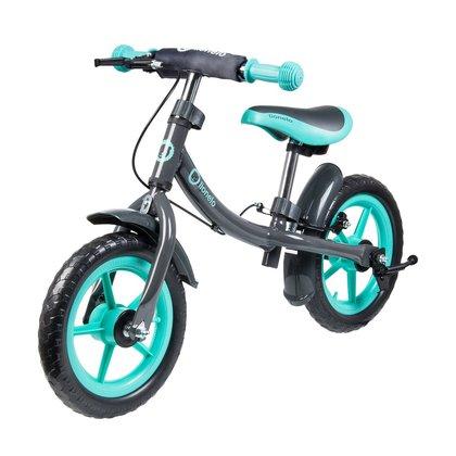 Lionelo - Bicicleta fara pedale Dan Plus Turquoise