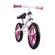 Lionelo - Bicicleta fara pedale Fin Plus White/ Pink