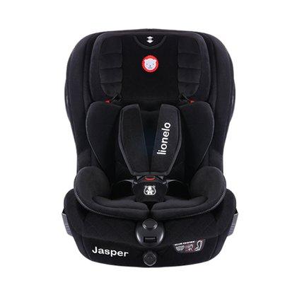 Lionelo - Scaun auto copii Jasper, cu Isofix, 9-36 Kg, Black