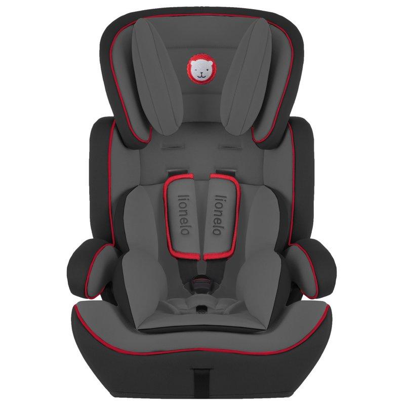 Lionelo Scaun auto copii 9-36 Kg Levi Plus Black/ Red