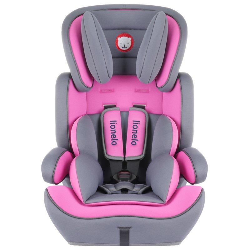 Lionelo Scaun auto copii 9-36 Kg Levi Plus Pink