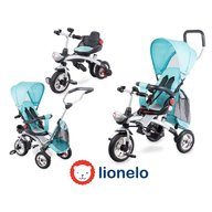Lionelo - Tricicleta multifunctionala Tim Plus, Blue, Resigilate