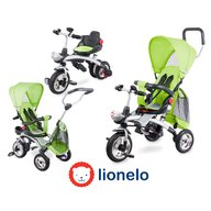 Lionelo - Tricicleta multifunctionala Tim Plus, Green
