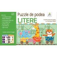 Editura Gama - Puzzle de podea. Litere