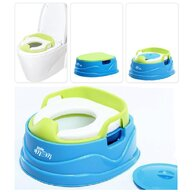 Little Mom - Olita multifunctionala Potty 3 in 1 Blue