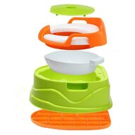 Little Mom - Olita multifunctionala Potty 3 in 1 Green