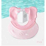 Little Mom - Protectie baita pentru ochi si urechi Elephant Pink