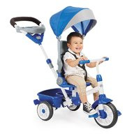 Little Tikes TRICICLETA PERFECT FIT 4IN1 ALBASTRA