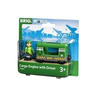 BRIO - Locomotiva , Cu sofer, Pentru transport marfa