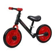 Lorelli - Bicicleta Energy, cu pedale si roti ajutatoare, Red
