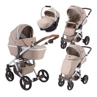 Lorelli - Carucior 2 in 1 Rimini , Beige Triangles