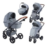 Lorelli - Carucior 2 in 1 Rimini , Grey Triangles