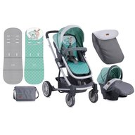 Lorelli Carucior 3 in 1 S-500 Grey & Green Friends
