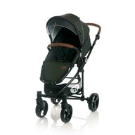 Lorelli - Carucior Set 3 in 1 Crysta, Black