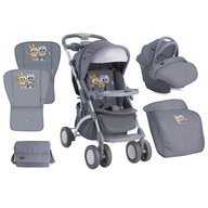 Lorelli Carucior Set Apollo 2017 Grey Baby Owls