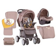 Lorelli Carucior Set Foxy 2018 Beige&Yellow Happy Family