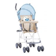 Lorelli - Carucior sport Light , pliere tip umbrela , Blue & Beige Moon Bear