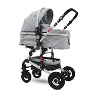 Lorelli - Carucior transformabil 2 in 1 Alba , Light Grey
