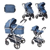 Lorelli - Carucior transformabil 3 in 1 Sola , Dark Blue