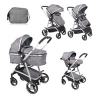 Lorelli - Carucior transformabil 3 in 1 Sola , Grey