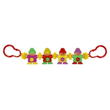 Lorelli - Jucarie zornaitoare de agatat la carucior Happy Clowns