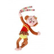 Lorelli - Jucarie zornaitoare din plus cu vibratii Monkey, 30 cm