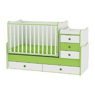Lorelli Mobilier transformabil 70/160 Maxi Plus White/Green