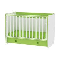Lorelli Pat lemn balansoar 60x120 Dream White/Green