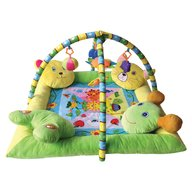 Lorelli - Saltea de activitate plus Play Gym cu 4 perne 80x80 cm