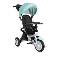 Lorelli - Tricicleta multifunctionala 3 in 1 Matrix Air , Green Stars