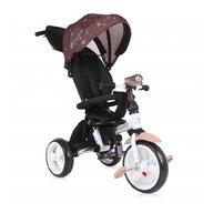 Lorelli - Tricicleta multifunctionala 4 in 1 Enduro, scaun rotativ, Brown Stars