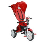Lorelli - Tricicleta multifunctionala 4 in 1 Enduro, scaun rotativ, Red