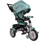 Lorelli - Tricicleta multifunctionala 4 in 1 Neo Air , Green Lines