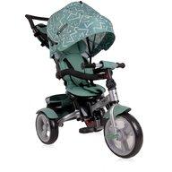 Lorelli - Tricicleta multifunctionala 4 in 1 Neo , Green Lines
