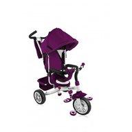 Lorelli - Tricicleta multifunctionala pentru copii 3 in 1 B302A, Rose, White