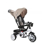 Lorelli - Tricicleta multifunctionala pentru copii, 6 in 1, Rocket, Ivory