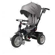 Lorelli - Tricicleta pentru copii Jaguar Air, multifunctionala, 4 in 1, roti mari cu camera,  Grey
