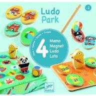 Djeco - Ludo park, primele 4 jocuri