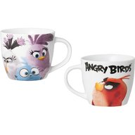Lulabi - Cana portelan Angry Birds 220ml, Multicolor